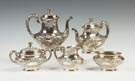 Gorham Sterling Silver Five-Piece Tea & Coffee Set