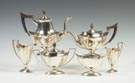 Gorham Sterling Silver Six-Piece Tea Set