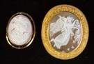 Two Cameo Brooches