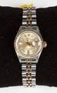 Rolex Ladies' Two Tone Date Just Wristwatch