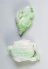 Two Chinese Carved Jade Fingering Pieces