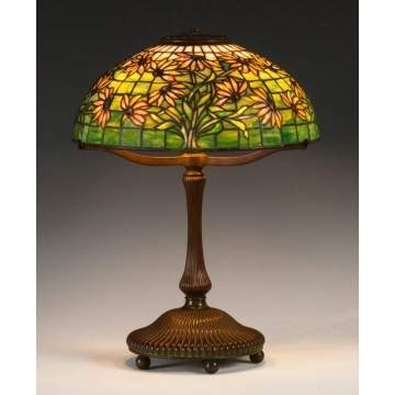 Fine Tiffany Studios, NY, Black Eyed Susan Table Lamp