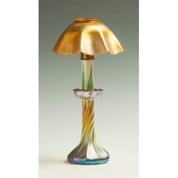 Tiffany Candlestick Lamp