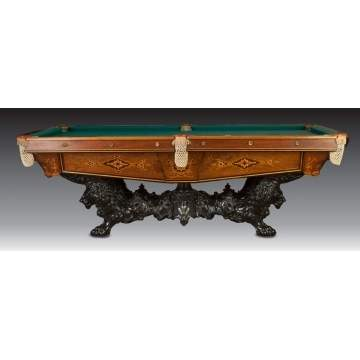 Brunswick Monarch Snooker Table