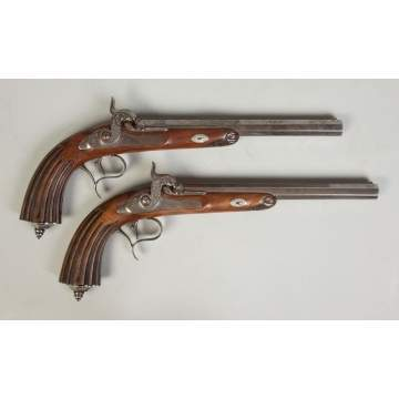 Engraved Dueling Pistols