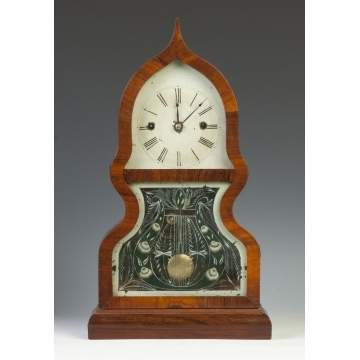 Fine & Rare J.C. Brown Acorn Shelf Clock
