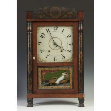 Riley Whiting Transitional Shelf Clock
