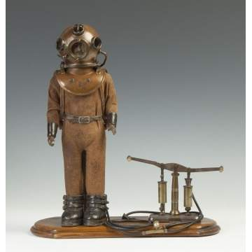 Very Rare Deep Sea Diver Patent Model