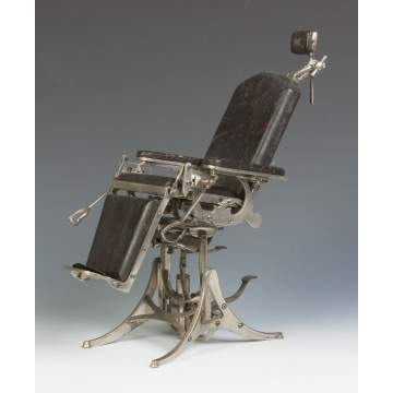 Doctor's Chair Patent Model