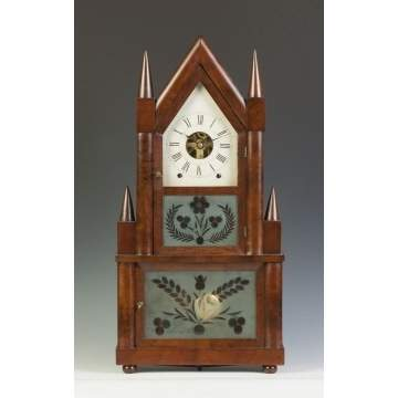 Birge & Fuller Steeple on Steeple Clock