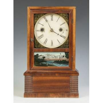 J. C. Brown Ripple Front Cottage Clock