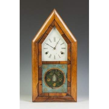Rare Smith & Goodrich Shelf Clock