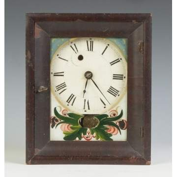 Rare Silas B. Terry Miniature Shelf Clock