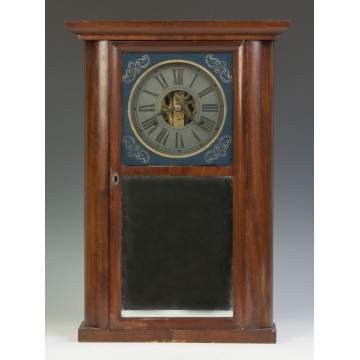C.N. Jerome Round Side Shelf Clock