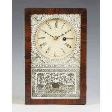 New England Clock Co. Miniature Box Clock