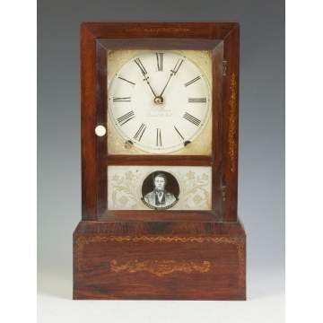 J.C. Brown Shelf Clock
