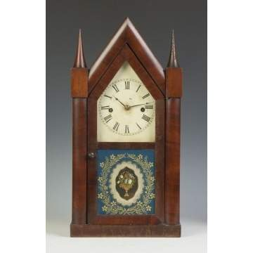 Chauncey Jerome Steeple Clock