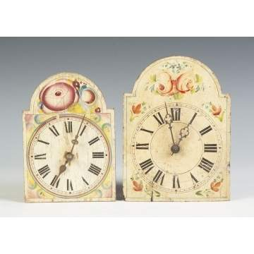 Two Wag-on-the-Wall Black Forest Clocks