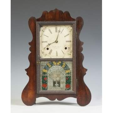 Brewster Mfg. Co. Shelf Clock