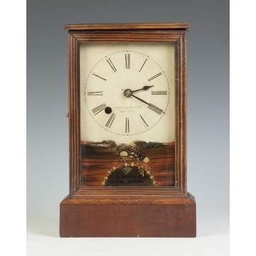 Henry Sperry Co., NY, Miniature Box Clock