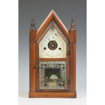 J.C. Brown Miniature Shelf Clock