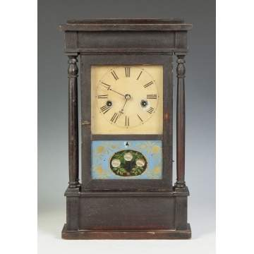 C.S. Sperry Miniature 4-Column Shelf Clock