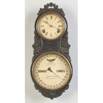 Ithaca Iron Front Wall Clock