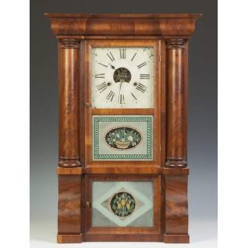 Forestville Mfg. Co. Empire Shelf Clock