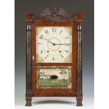Ephraim Downes for George Mitchell Shelf Clock