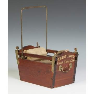 Henry Yost Washing Machine Patent Model