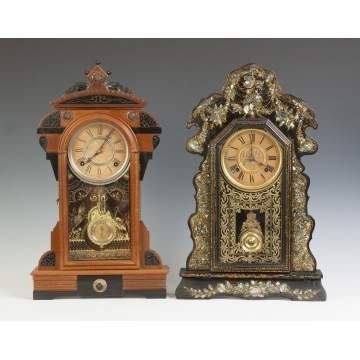 F. Kroeber & Ansonia Shelf Clocks