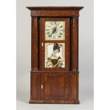 Rodney Brace, Salem Bridge, MA, Empire Shelf Clock