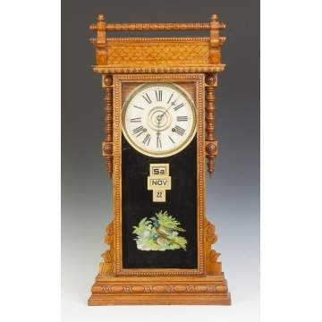William L. Gilbert Clock Co., Calendar Clock