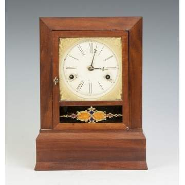J. Ives Miniature Shelf Clock