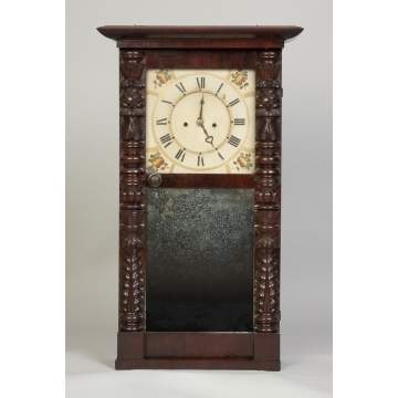 Abner Jones, Bloomfield, NY, Empire Shelf Clock