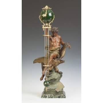 E. Picault French Swinger Clock
