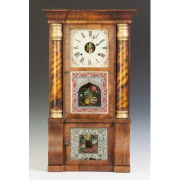 Seth Thomas Triple Decker Empire Shelf Clock