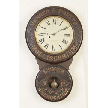 Baird Clock Co., Plattsburgh, NY,Wall Clock