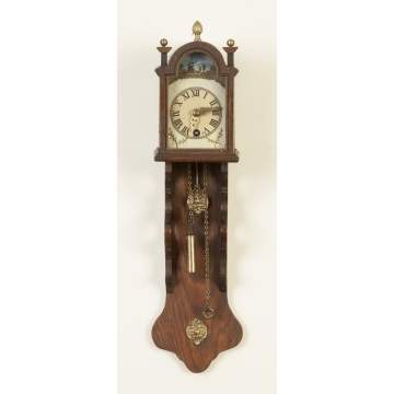 Miniature Dutch Hooded Clock