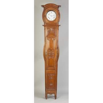 R. Jeantet Morbier French Tall Case Clock