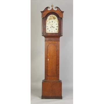 Joseph Crofts English Tall Case Clock
