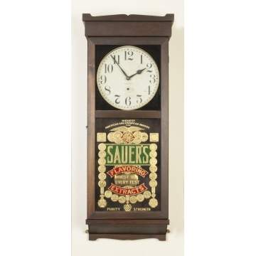 New Haven Clock Co. Wall Clock