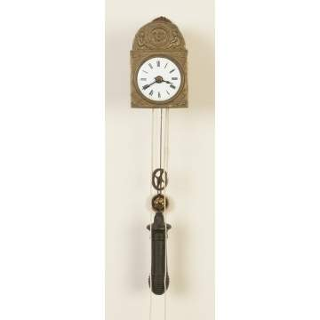 Miniature Black Forest Wag-on-Wall Clock