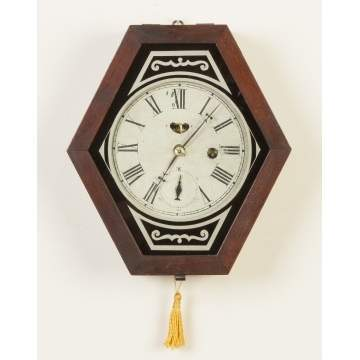 Waterbury Clock Co. Miniature Wall Clock
