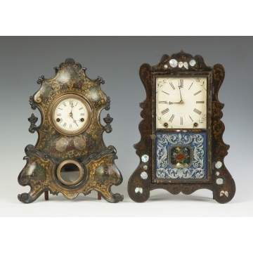 Gilbert & Jerome & Brewster Mfg. Co. Clocks