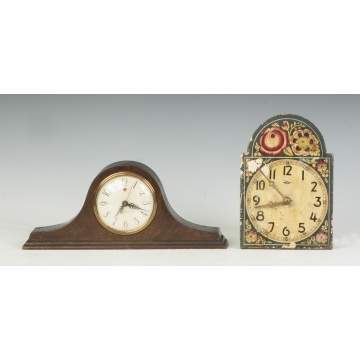 Mantle Clock & Wag-on-the-Wall Clock