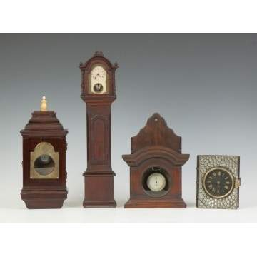 Watch Safes, Miniature Grandfather Clocks, Book Clock