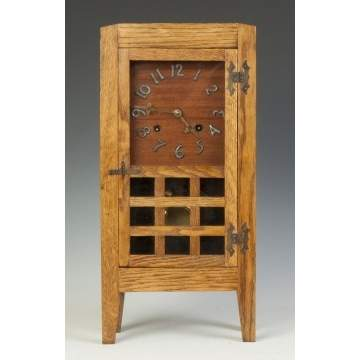 Arts & Crafts Shelf Clock