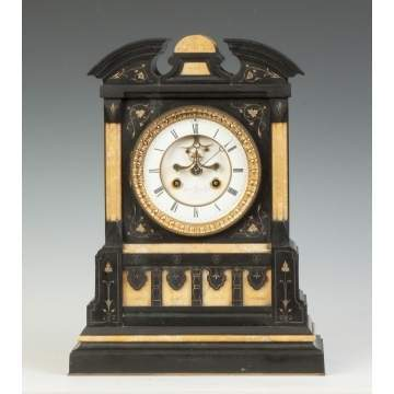 Marble Shelf Clock, Boston