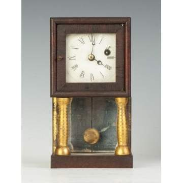Rare S.B. Terry Miniature Empire Clock